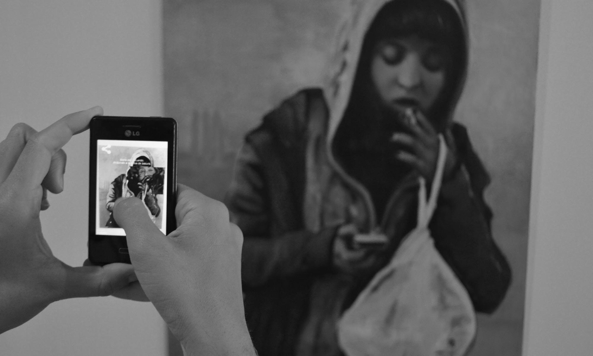Juanma Moreno Sánchez, arte y realidad aumentada