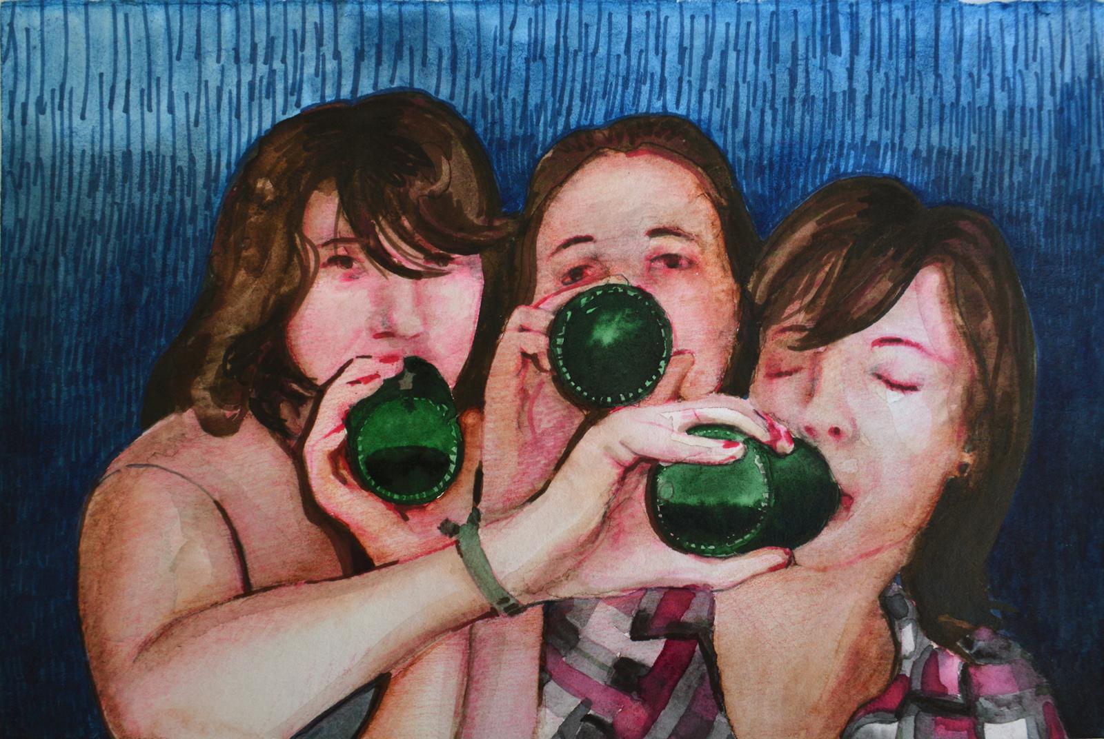 La noche (24:00). Juanma Moreno Sánchez 2015. Arte y realidad aumentada