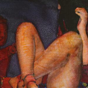 Piernas. Juanma Moreno Sánchez 2015. Arte y realidad aumentada