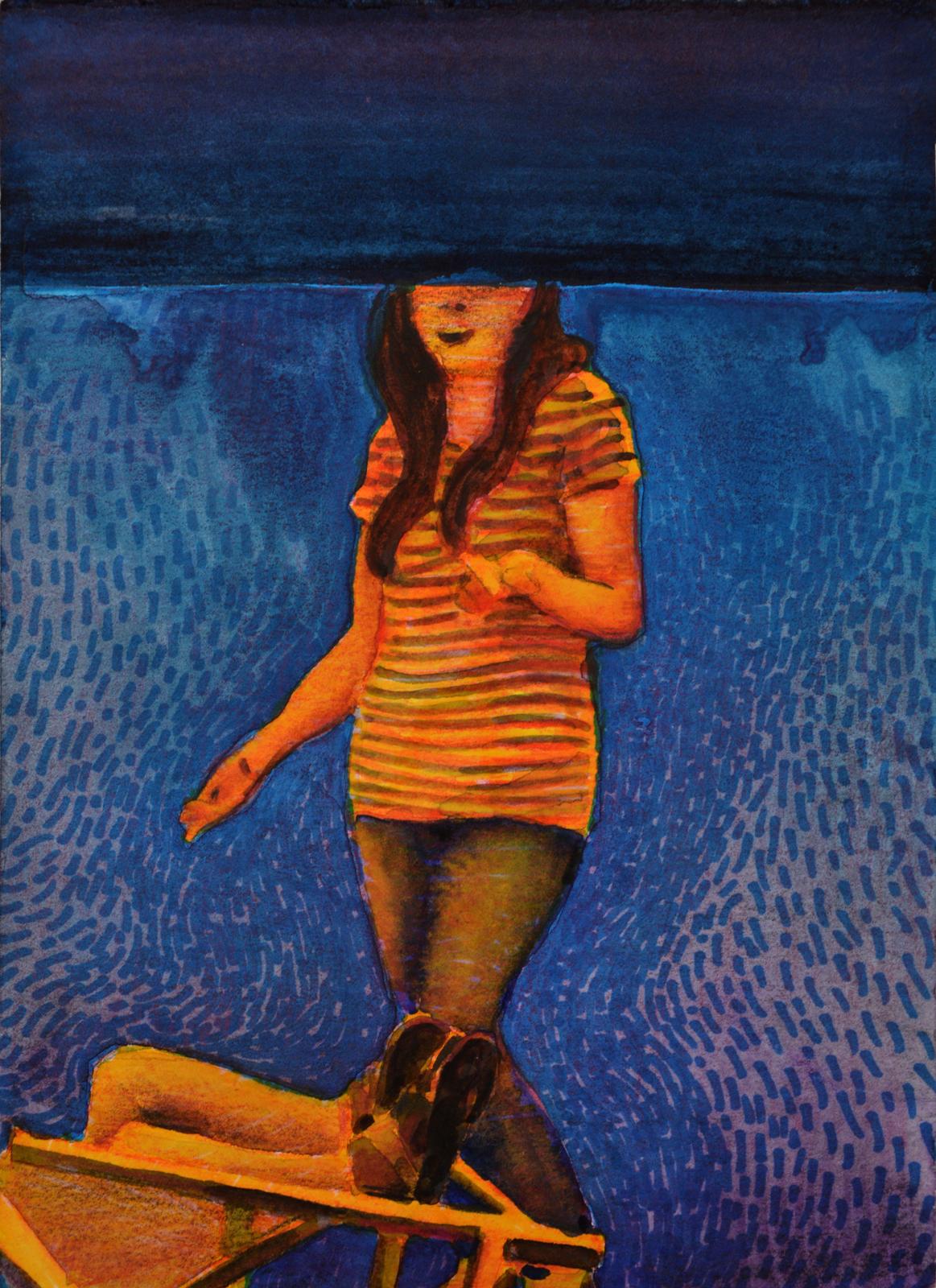 Ciega. Juanma Moreno Sánchez 2015. Arte contemporáneo