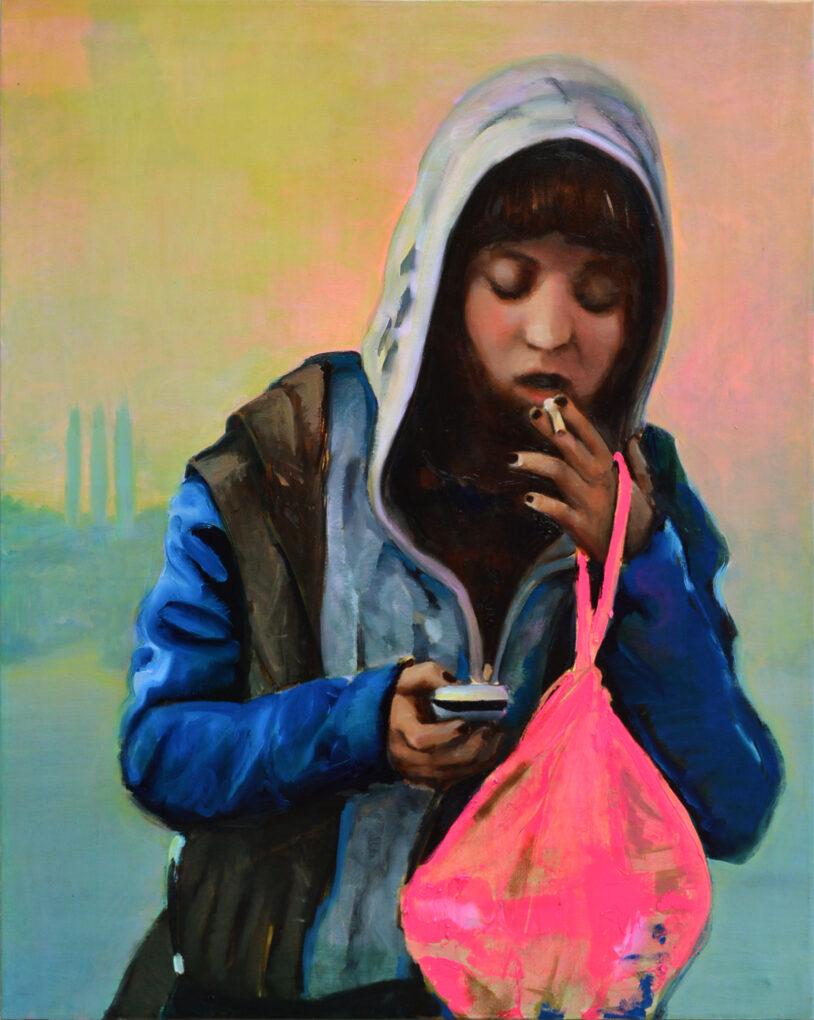 La notificación. Never Gone Forever. Realidad aumentada y arte. Juanma Moreno Sánchez 2016
