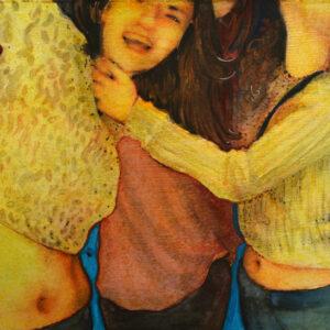 La noche (2:00). Juanma Moreno Sánchez 2015. Arte y realidad aumentada