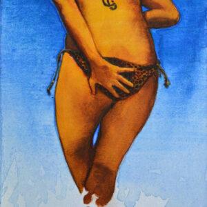 Baño (ii). Juanma Moreno Sánchez 2015. Arte y realidad aumentada