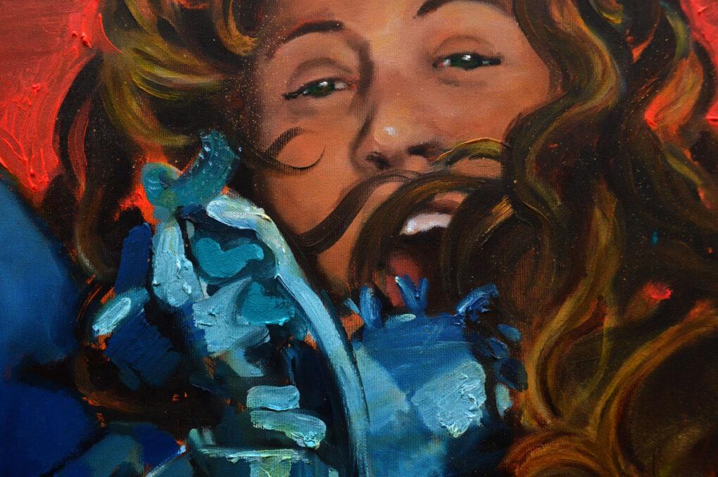 Ascensión (detalles). Never Gone Forever. Realidad aumentada y arte. Juanma Moreno Sánchez 2015