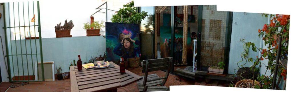 Juanma Moreno Sánchez´s studio in Seville