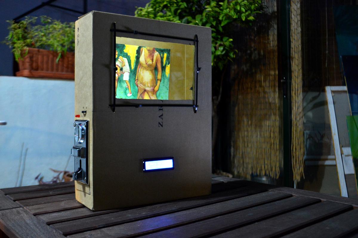 Arte y robótica, un prototipo de Juanma Moreno Sánchez
